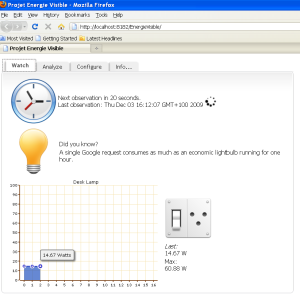 EnergieVisible screenshot